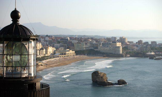 Un jour à Biarritz …
