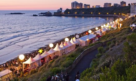 Biarritz by night