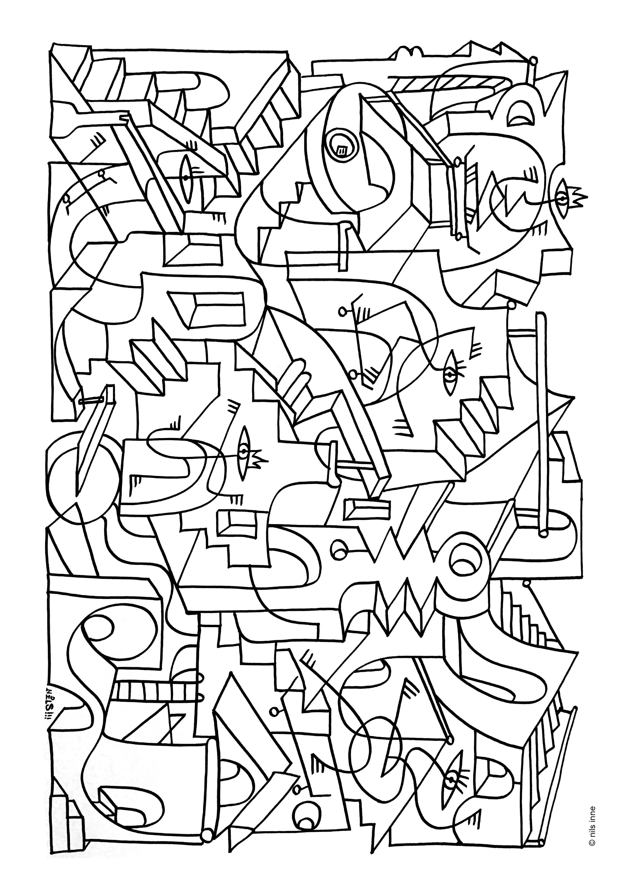 Coloriage Nils inne
