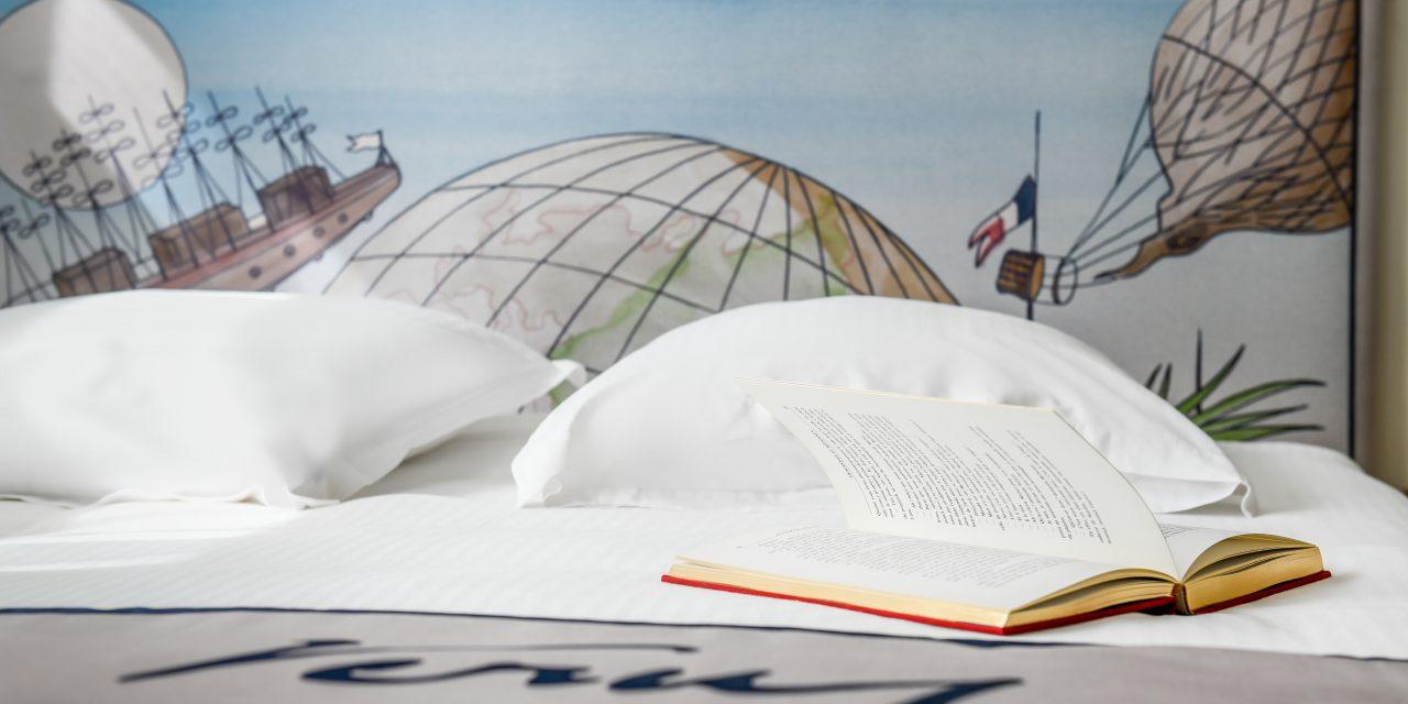 Une expérience immersive à l'Hôtel Littéraire 4* Jules Verne